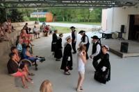 Breton dance lesson
